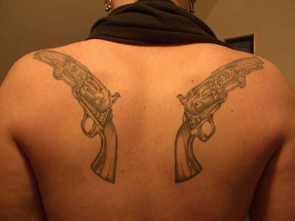 Guns tattoo