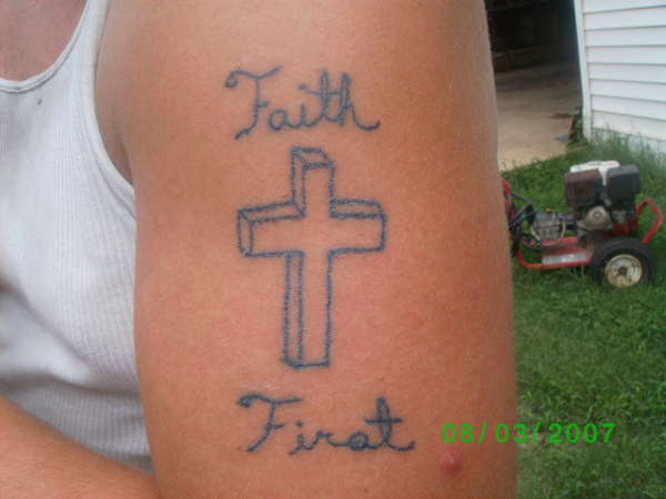 faith first tattoo