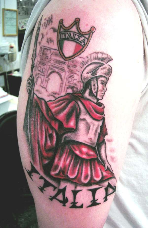 Roman Soldier By Brian At Powerhouse Tattoo
