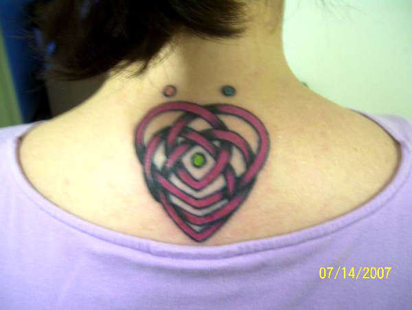 celtic knot of motherhood tattoo