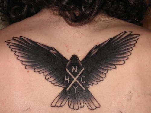 NYHC dove tattoo
