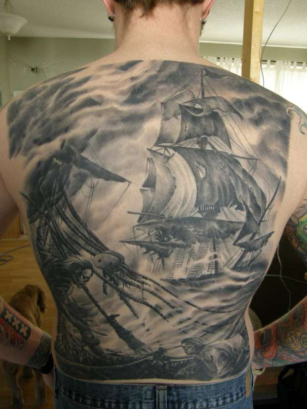 Rough Seas... tattoo