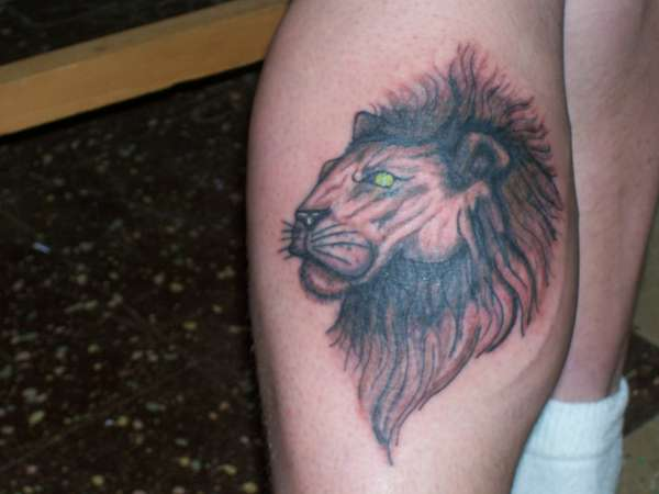 lion pic after major improvement tattoo