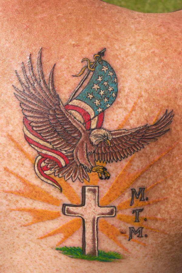 God Family Country tattoo