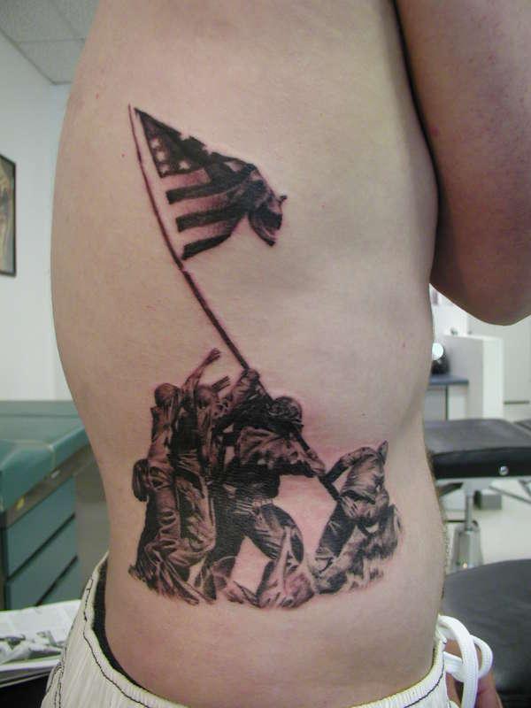 Iwo jima tattoo for Iwo jima tattoo