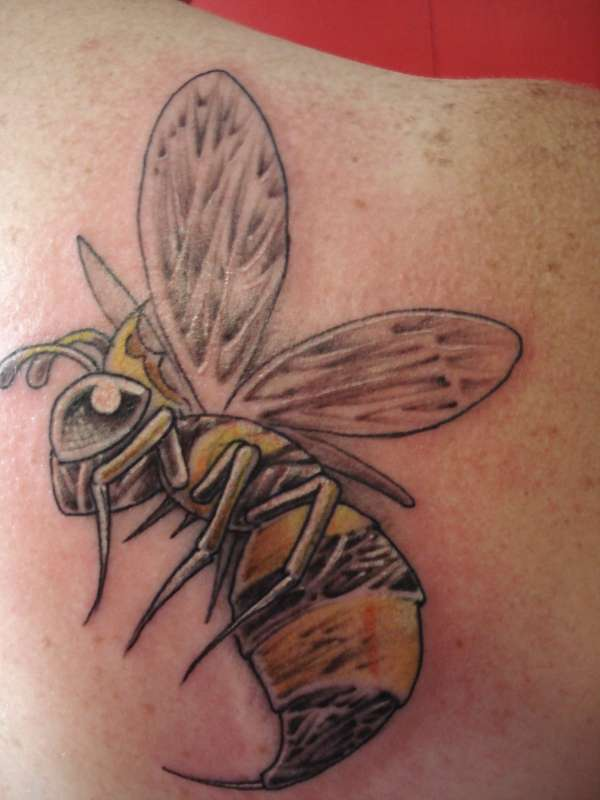 Queen Bee tattoo