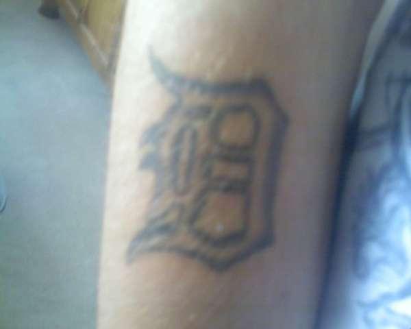 Detroit d tattoo for Detroit d tattoo