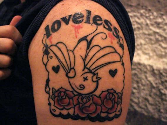LOVELESS. tattoo