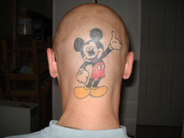 Mickey M.o.u.s.e. tattoo