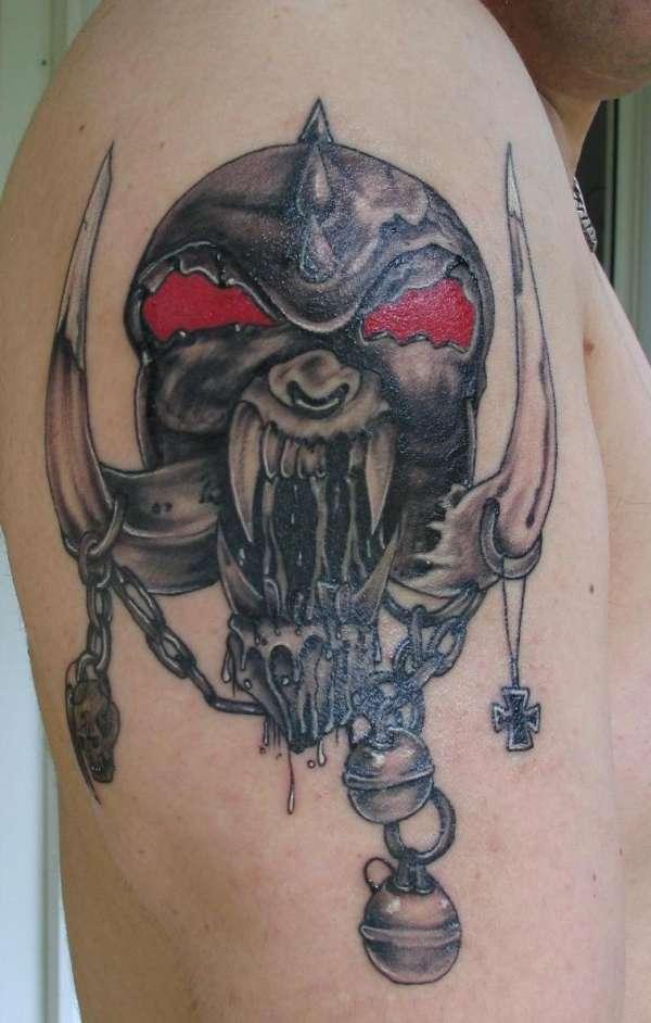 Motorhead War Pig tattoo