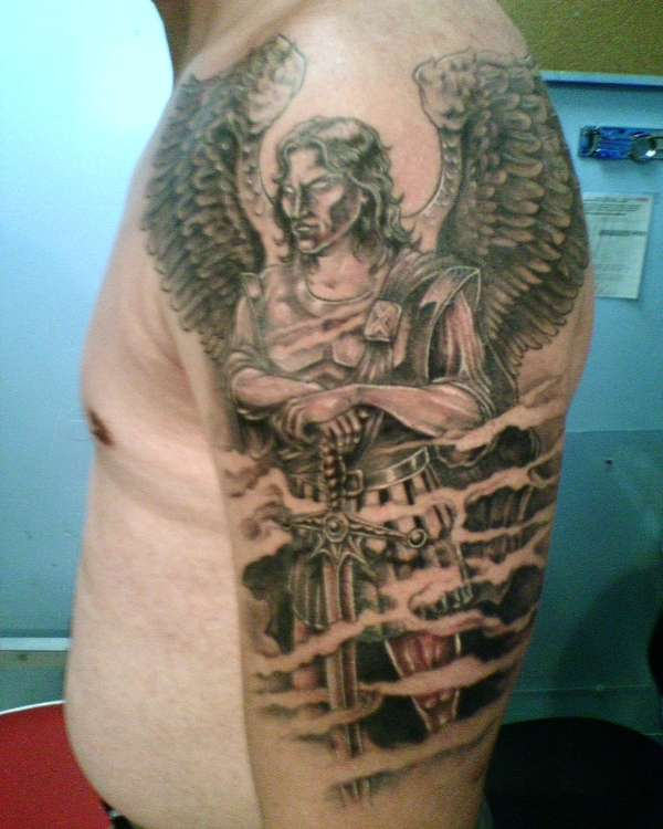 St. Michael The Archangel tattoo
