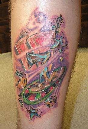 Lucky #7 tattoo