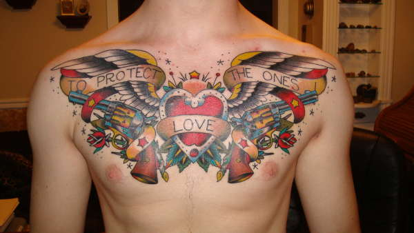 To protect the ones i love tattoo