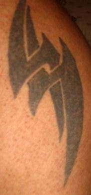 Hubby's Other tat. tattoo