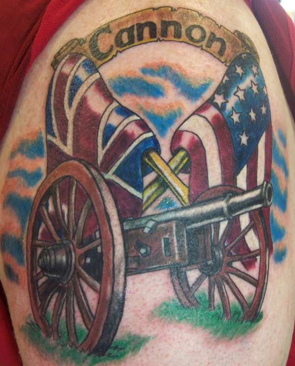 CANNON tattoo