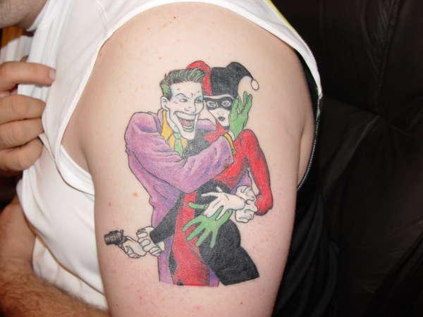 Joker & Harley Quinn tattoo