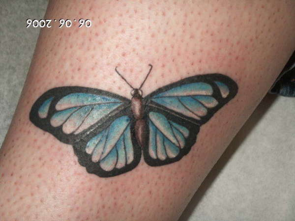 MARIPOSA tattoo