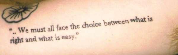 Text tattoo tattoo