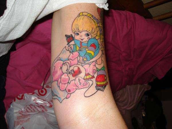 Rainbow Bright Tattoo