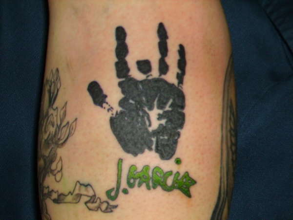 Jerry's hand man! tattoo