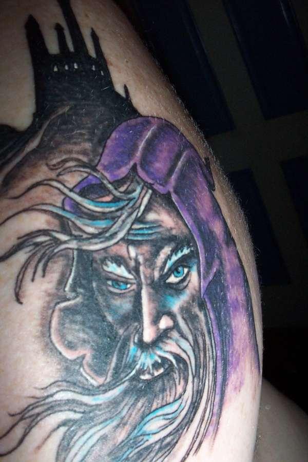 Wicked Wizard tattoo