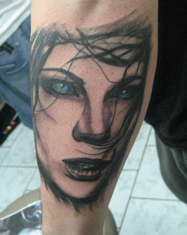 Underworld Chick tattoo