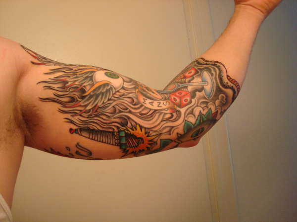 3 4 sleeve pic 4 tattoo for 3 4 sleeve tattoo