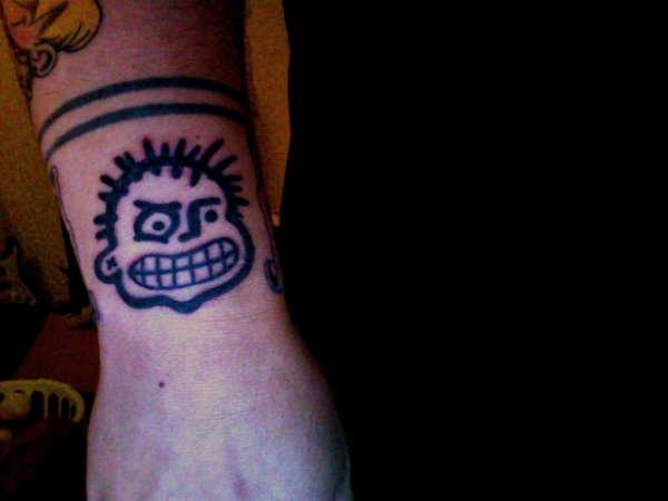 Pokinatcha Punk tattoo