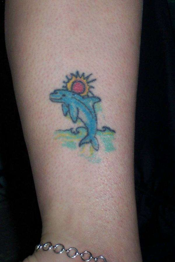 my dolphin tattoo