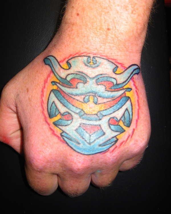 Hand Design tattoo