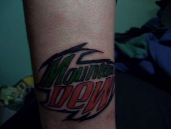 Mountain Dew Tattoo tattoo