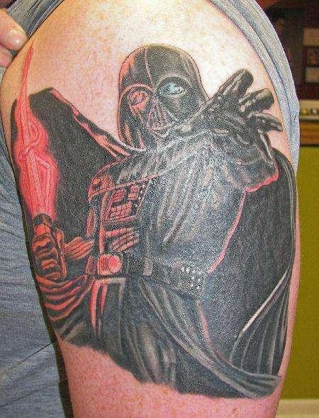 Darth Vader Tattoo tattoo