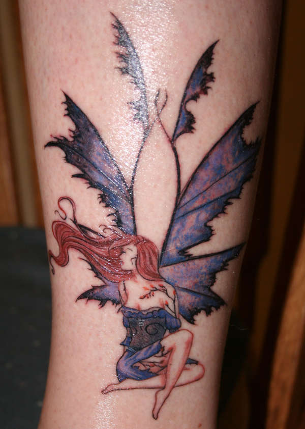 Sapphire by Amy Brown tattoo