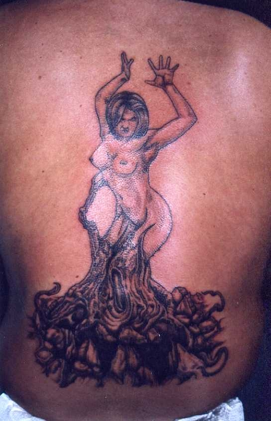 Mother Nature Tattoos: Mother Nature Tattoo
