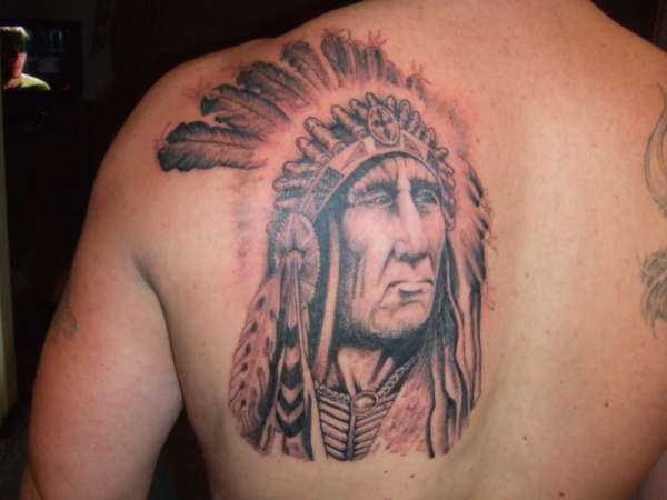 Indian Chief - Ouch Tattoo Studio tattoo