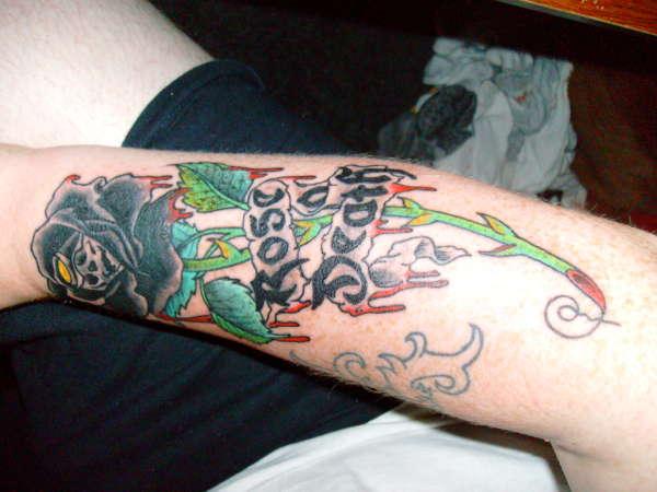 rose of death tattoo