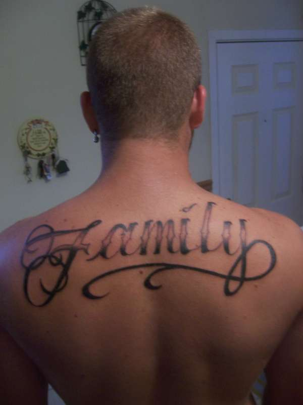 Family has my back tattoo for My family tattoo