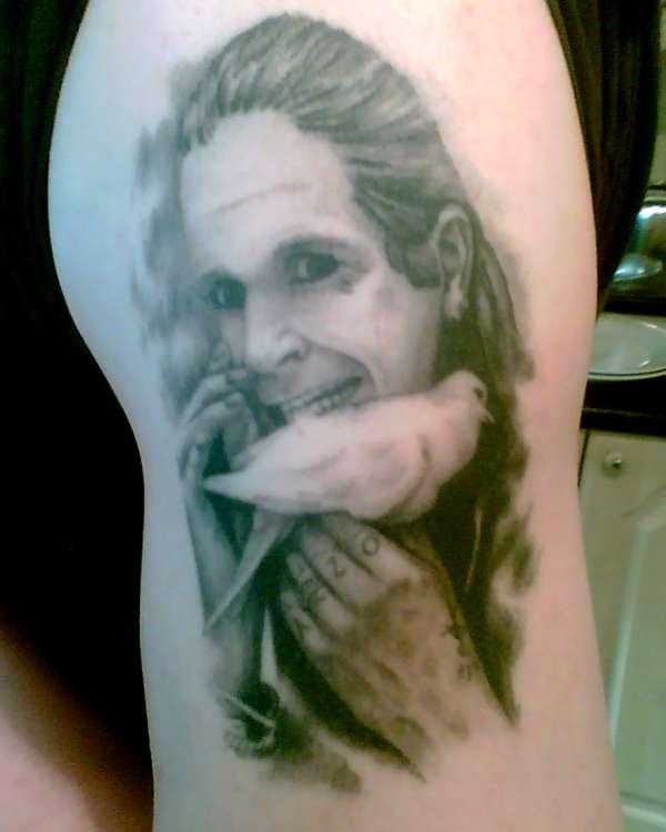 Ozzy tattoo
