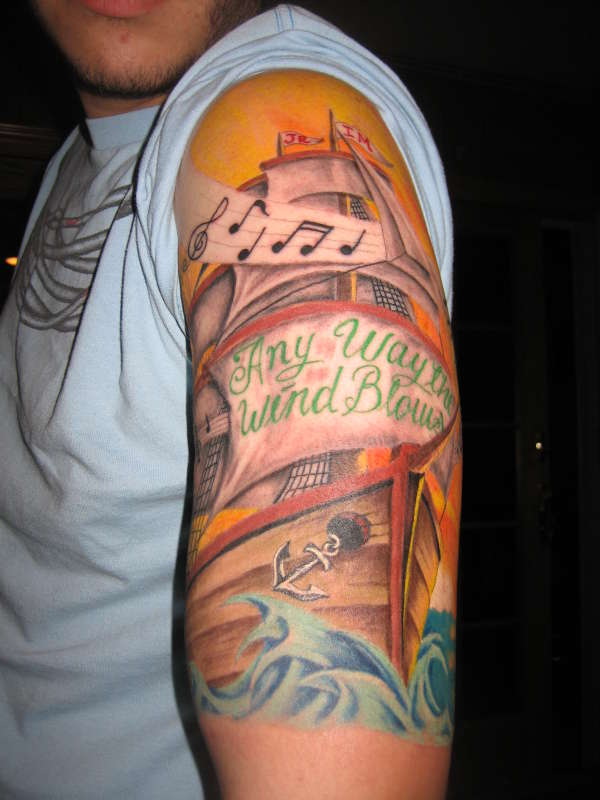 Any Way The Wind Blows Tattoo