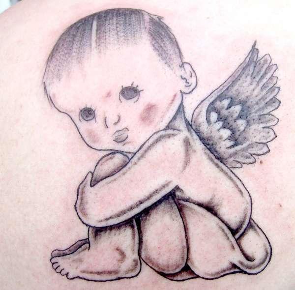 Baby Angel Tattoo