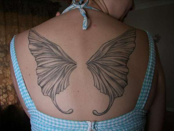 839e697203fd4 Fairy Wings tattoo