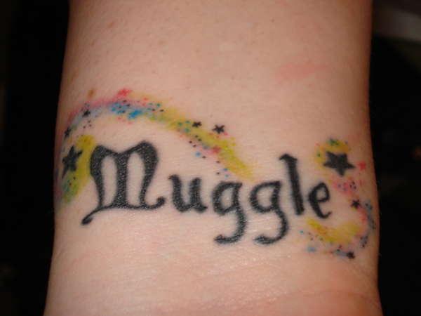 Muggle tattoo tattoo