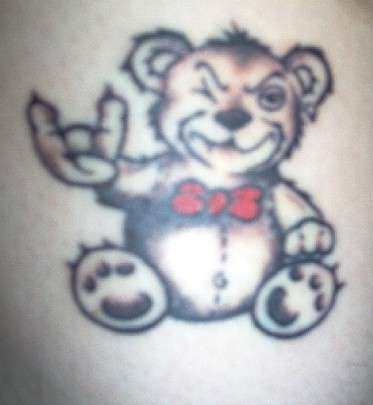 Teddy Bear tattoo
