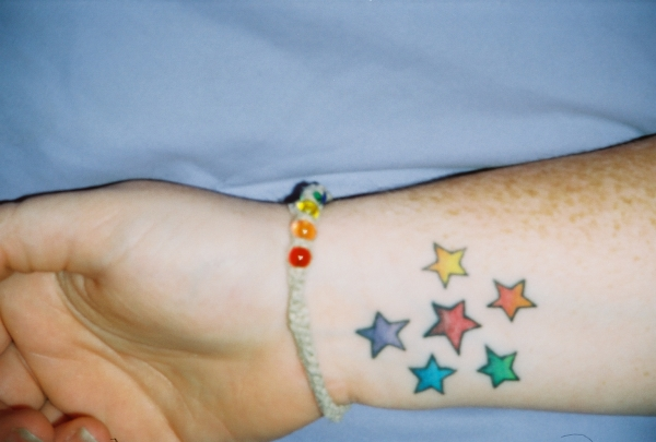 Pride Stars tattoo