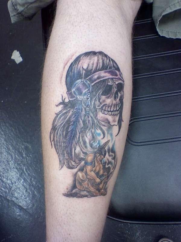 Fallen Warrior tattoo