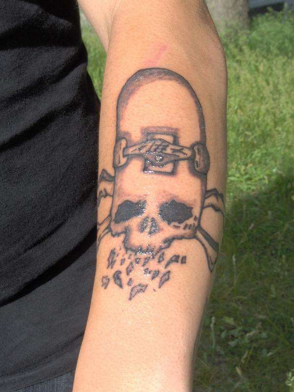 down 4 life tattoo