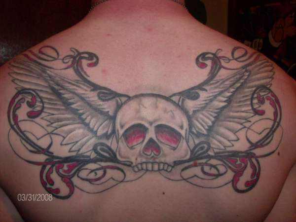 Better pic of my back piece tattoo