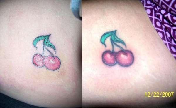 Tattooing on Myself tattoo