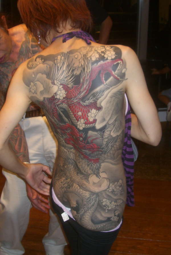 Dragon Lady tattoo