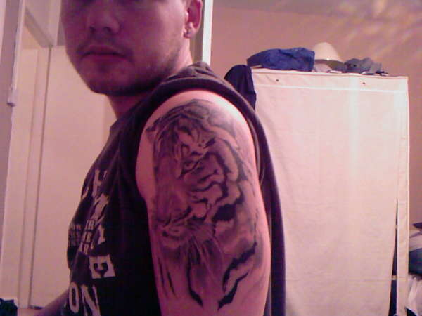 My own tiger tattoo